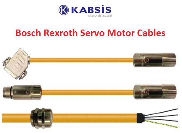 bosch rexroth servo motor cables kabsis